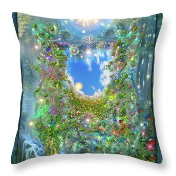 Forest Force Throw Pillow