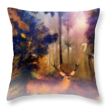 Forest Glen Throw Pillow