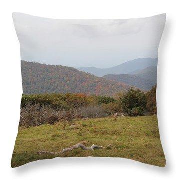 Forest Highlands Throw Pillow