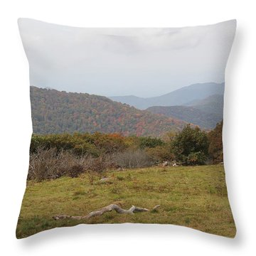 Forest Highlands Throw Pillow