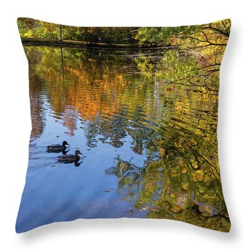 Forest Hill Reflections II Throw Pillow