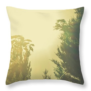 Forest Mysteria Throw Pillow