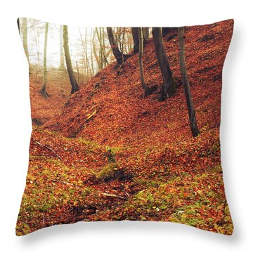 Forest Of November Throw Pillow