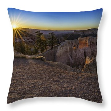 Throw Pillow featuring the photograph Forest Of Stone by Bitter Buffalo Photography
