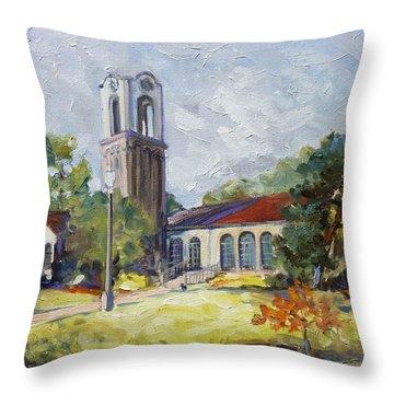 Forest Park Center - St. Louis Throw Pillow