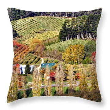 Forest Range, Adelaide Hills Throw Pillow by Bill  Robinson