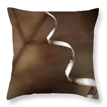 Forest Ribbon 3 Throw Pillow
