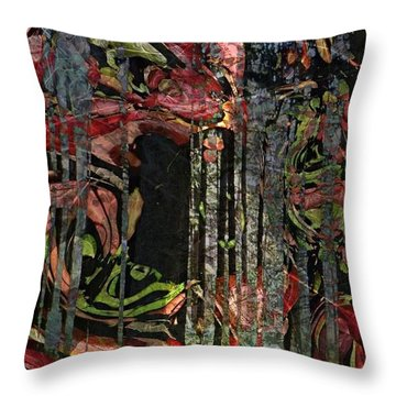 Forest Spirits Throw Pillow