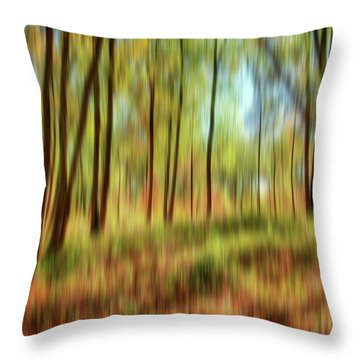 Forest Vision Throw Pillow