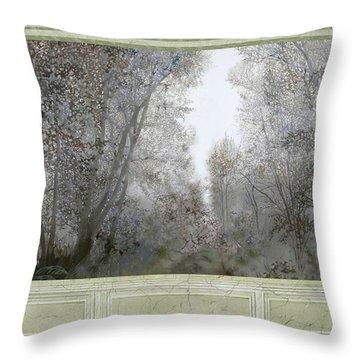 Foresta Di Marmo Fitto Throw Pillow
