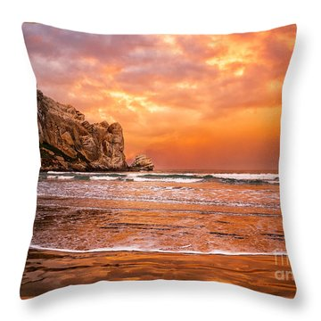 Forever Throw Pillow by Alice Cahill