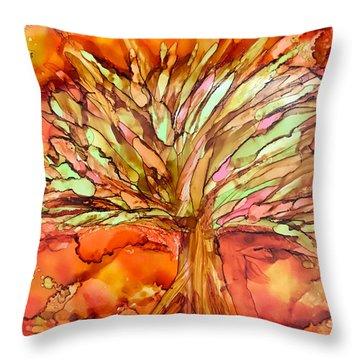 Forever Autumn Throw Pillow