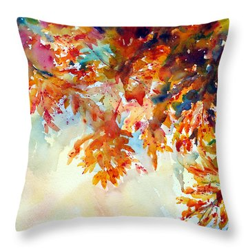 Forever Fall Throw Pillow