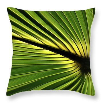 Forever Fronds Throw Pillow