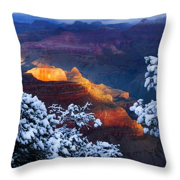 Forever Grand Throw Pillow