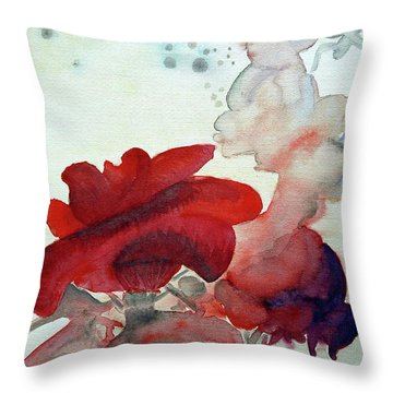 Forever Throw Pillow by Jasna Dragun