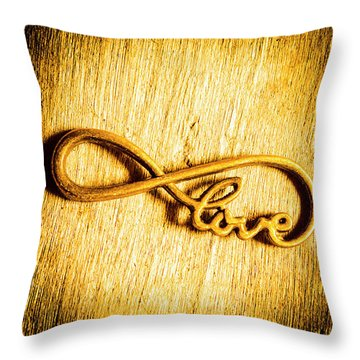Forever Love Throw Pillow