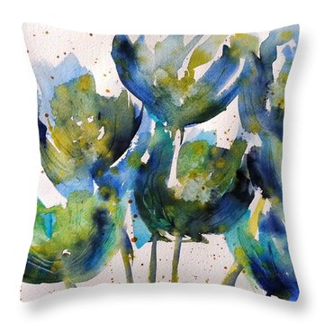 Forever Loving Blue Throw Pillow