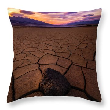 Forever More Throw Pillow by Bjorn Burton