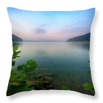 Forever Morning Throw Pillow