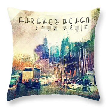 Forever Reign Throw Pillow