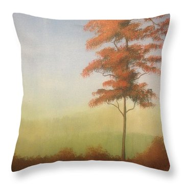 Forever Tree Throw Pillow