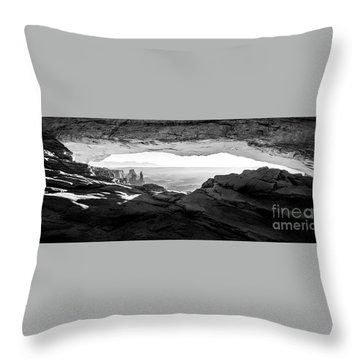 Forever View Throw Pillow by Kristal Kraft