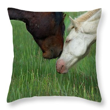 Throw Pillow featuring the photograph Forever Wild by Mary Hone