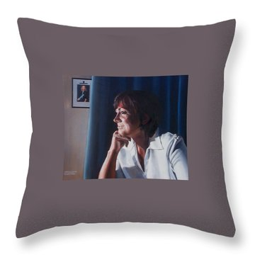 Forever Young Throw Pillow by Tim Johnson