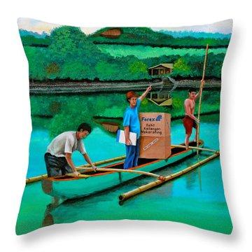 Forex 2 Throw Pillow