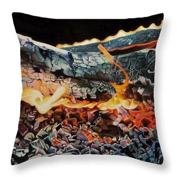 Forge Throw Pillow