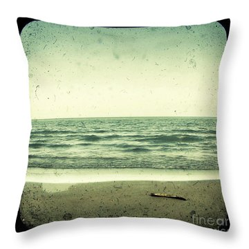 Forget Yesterday Throw Pillow