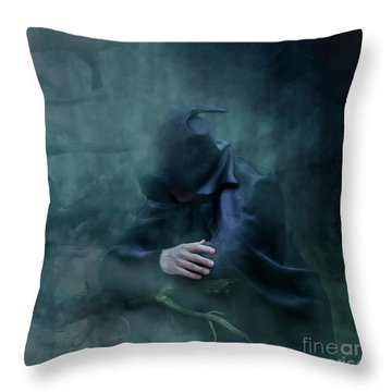 Forgetting  Throw Pillow by Agnieszka Mlicka