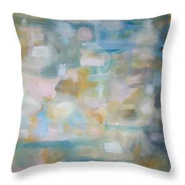 Forgetting The Past Throw Pillow by Raymond Doward