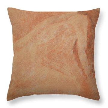 Forgive Me Throw Pillow by Lj Lambert