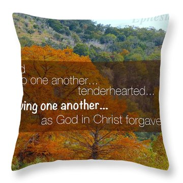 Forgiveness1 Throw Pillow