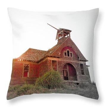 Forgoten Throw Pillow