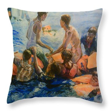 Forgotten But Not Gone Throw Pillow