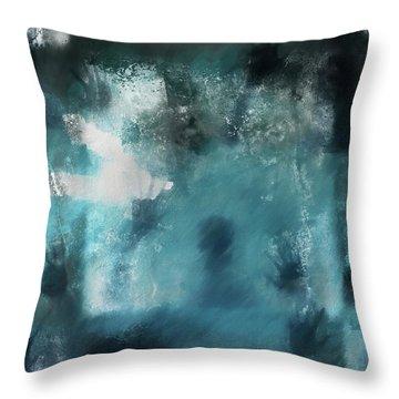 Forgotten Throw Pillow by Dan Sproul