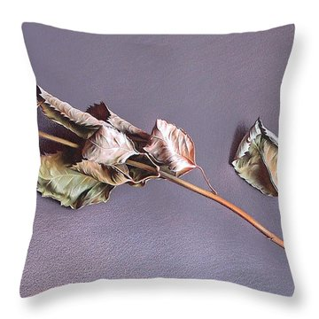 Forgotten Love - Detail Throw Pillow