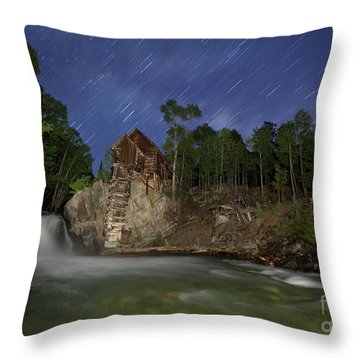 Forgotten Mill Throw Pillow