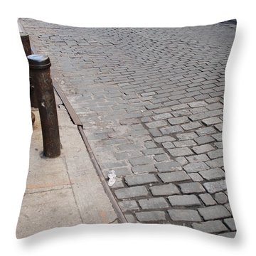 Throw Pillow featuring the photograph Forgotten N Y by Rob Hans