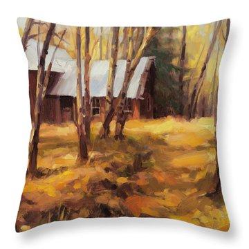 Forgotten Path Throw Pillow