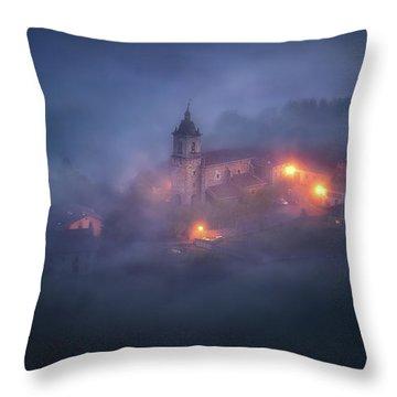 Forgotten Realms Throw Pillow