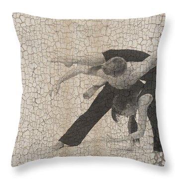 Forgotten Romance  Throw Pillow by Naxart Studio