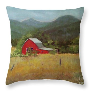 Forgotten Scene Throw Pillow