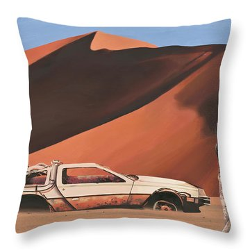 Sci-fi Throw Pillows