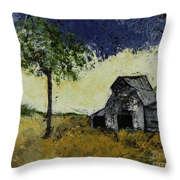 Forgotten Yesterday Throw Pillow by Kirsten Reed