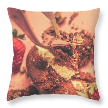 Fork It Throw Pillow