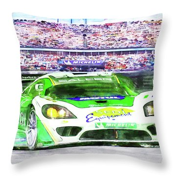 Form One Throw Pillow by Michael Cleere